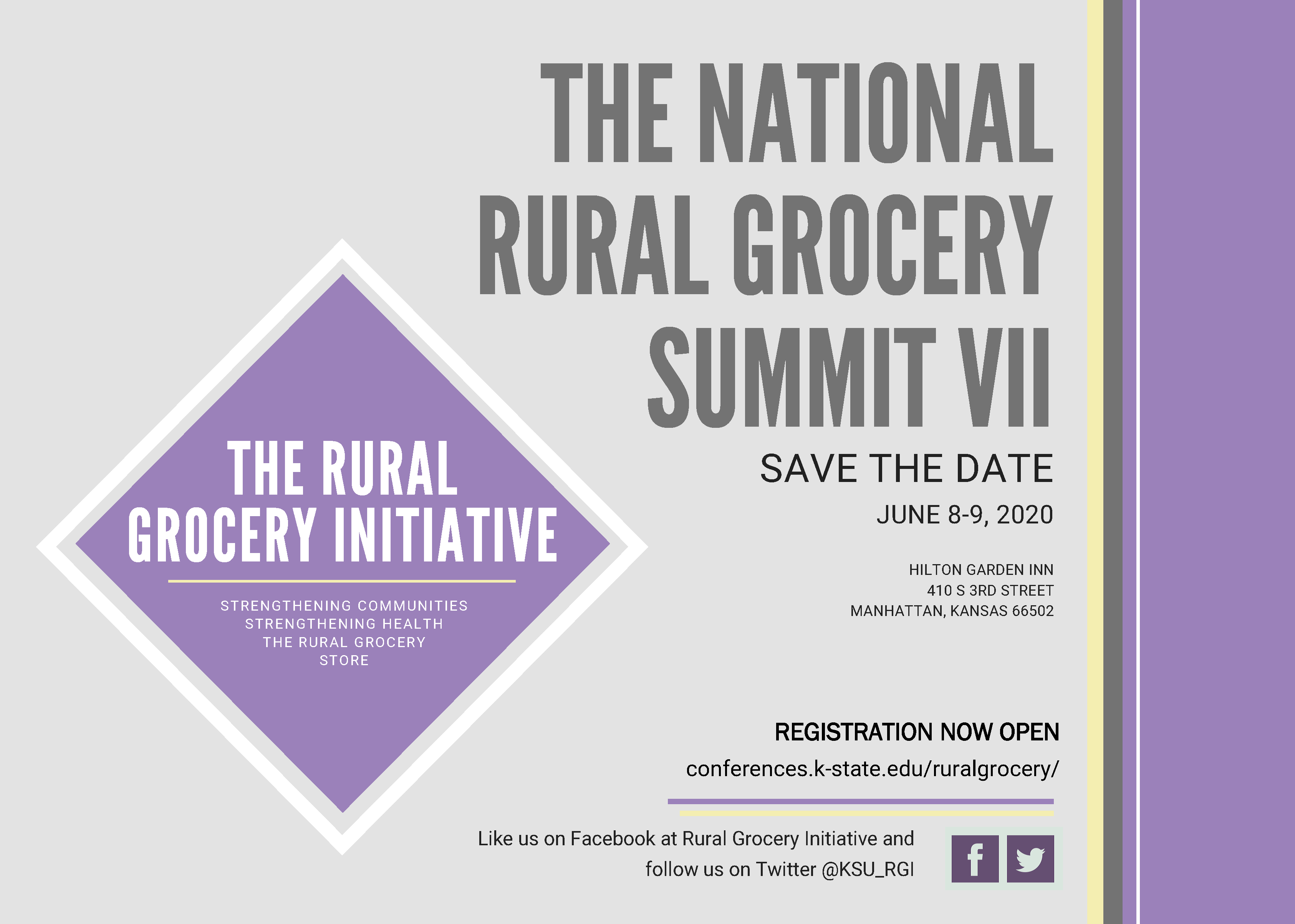 Save the Date for 2020 Rural Grocery Summit